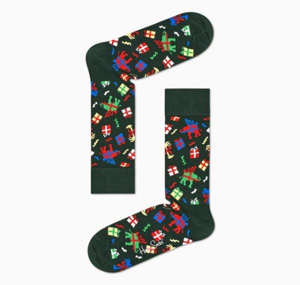 Happy Socks Womens Wish Socks Green 36-40 WIS01-7300