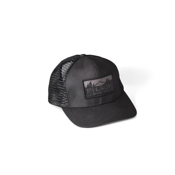 Filson Logger Mesh Cap Black 11030237
