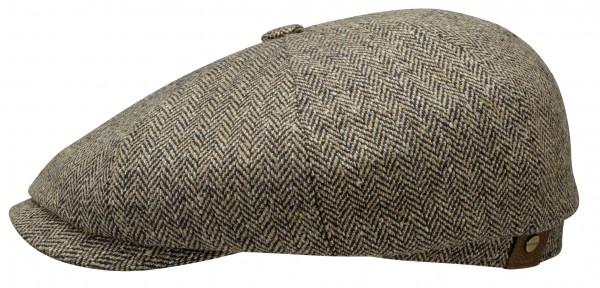 Stetson Hatteras Silk Herringbone Beige 6842501 317