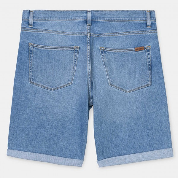Carhartt WIP Swell Short Blue Worn Bleached Herren i023027,01,wj