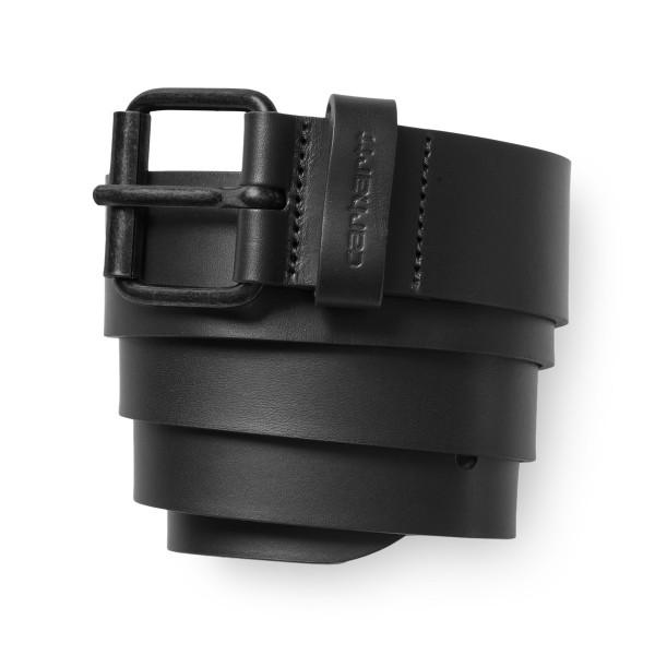 Carhartt Script Belt Cow Leather Black/Black
