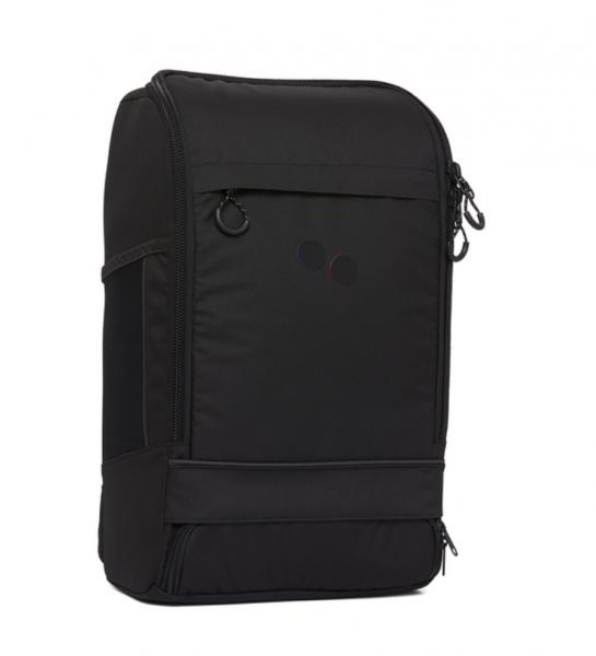 pinqponq Backpack Cubik Medium Rooted Black PPC-BPM-001-801C